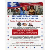 Meet & Greet-Creating Connections for Local Female Veterans